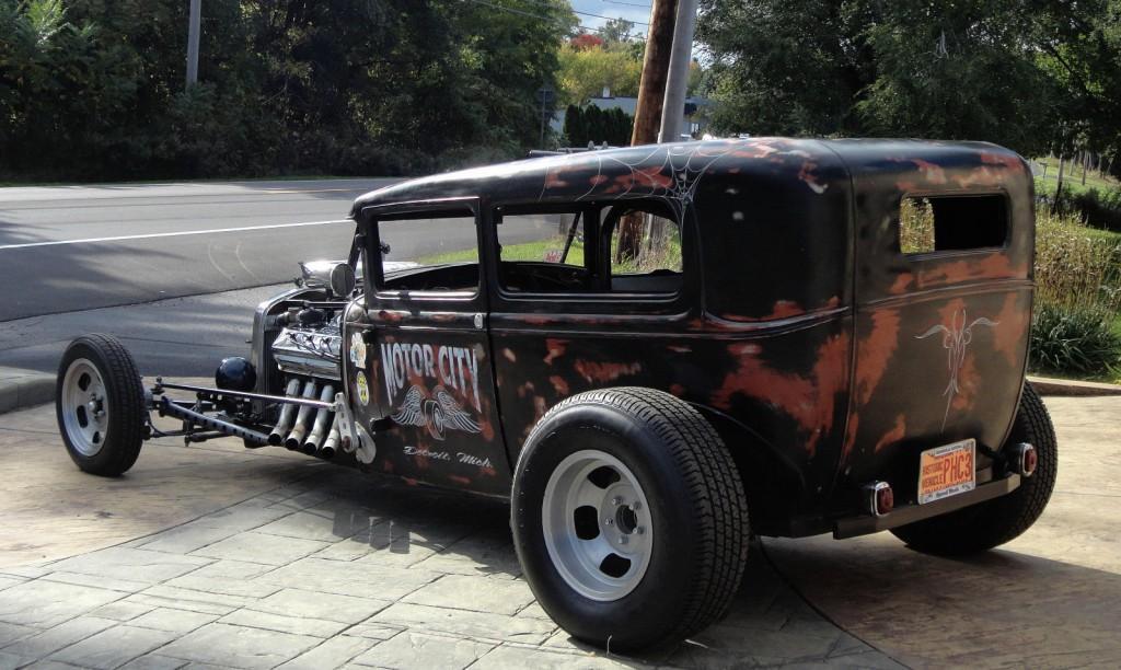 1930 Ford 2 Door Rat Rod