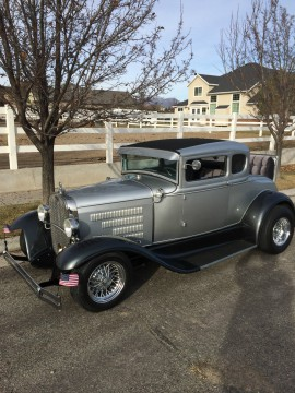 1930 Ford Model A 5 window coupe, street hot rod for sale