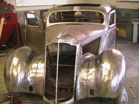 1937 Packard Six Body Chop top for sale