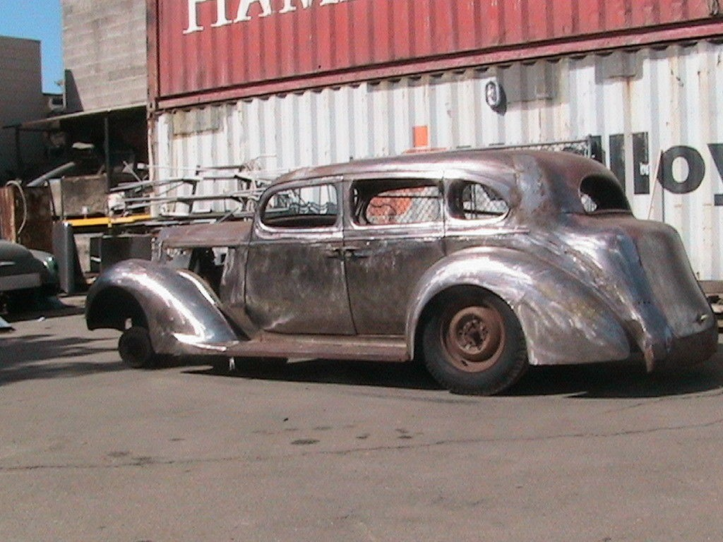 1937 Packard Six Body Chop top