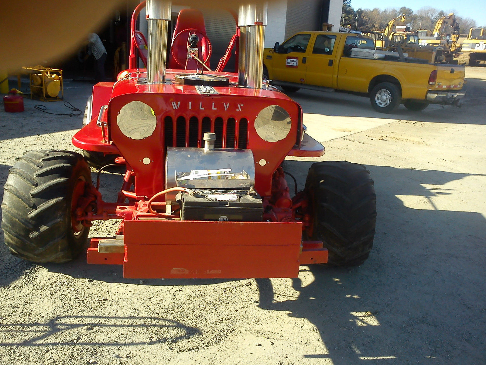 1946 Willys Jeep on Chevrolet 4×4 Truck Frame for sale