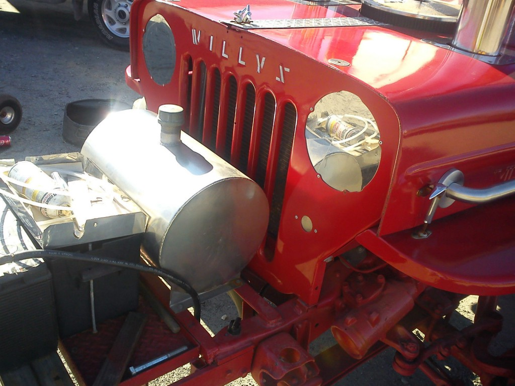 1946 Willys Jeep on Chevrolet 4×4 Truck Frame