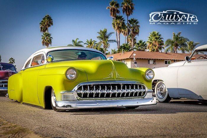 1953 Chevrolet 210 2door Sedan Top chop