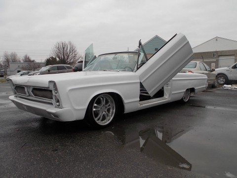 1966 Plymouth Fury lambo doors & air ride for sale