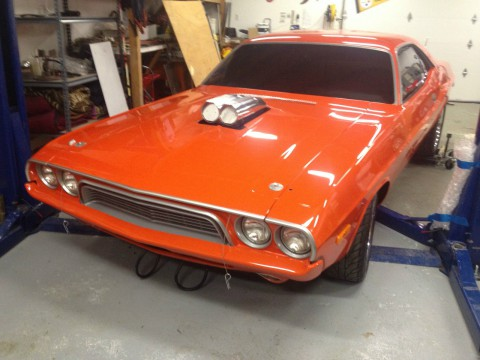 1973 Dodge Challenger 512 stroker 588 hp for sale