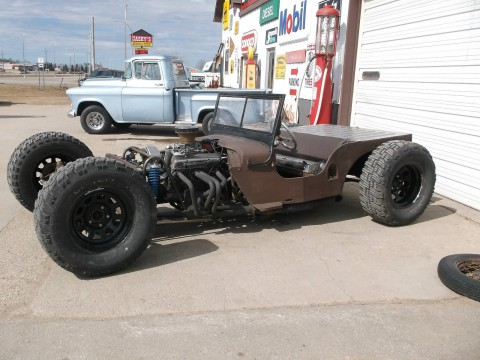 1949 Willys Jeep Streetrod by Nefarious Kustoms for sale
