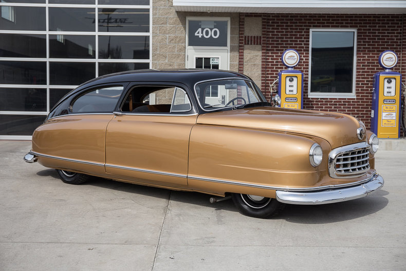 1950 Nash Statesman Custom Lowered Fresh Restoration For Sale