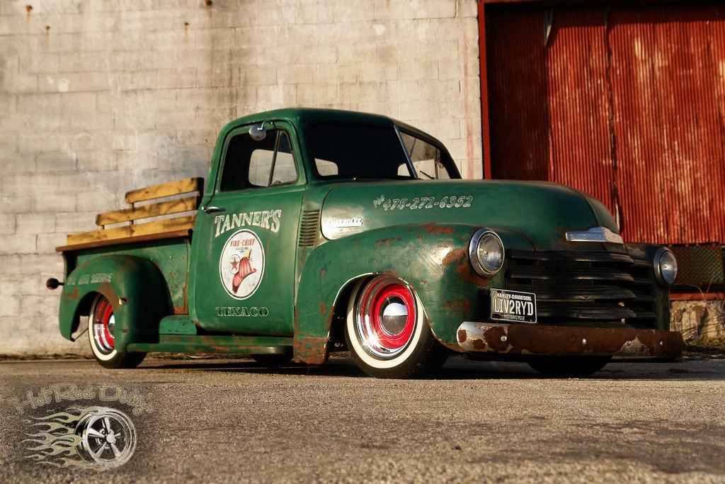 1952 Chevrolet C-10 Low Patina