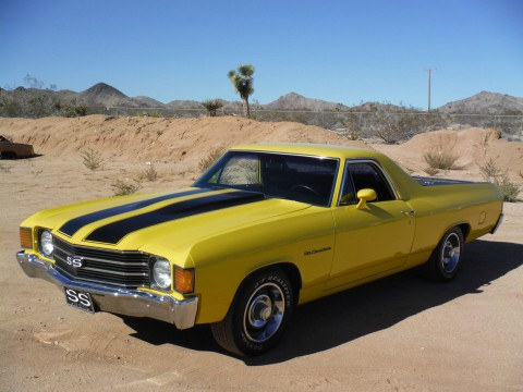 1972 Chevrolet El Camino SS Hotchkis suspension for sale