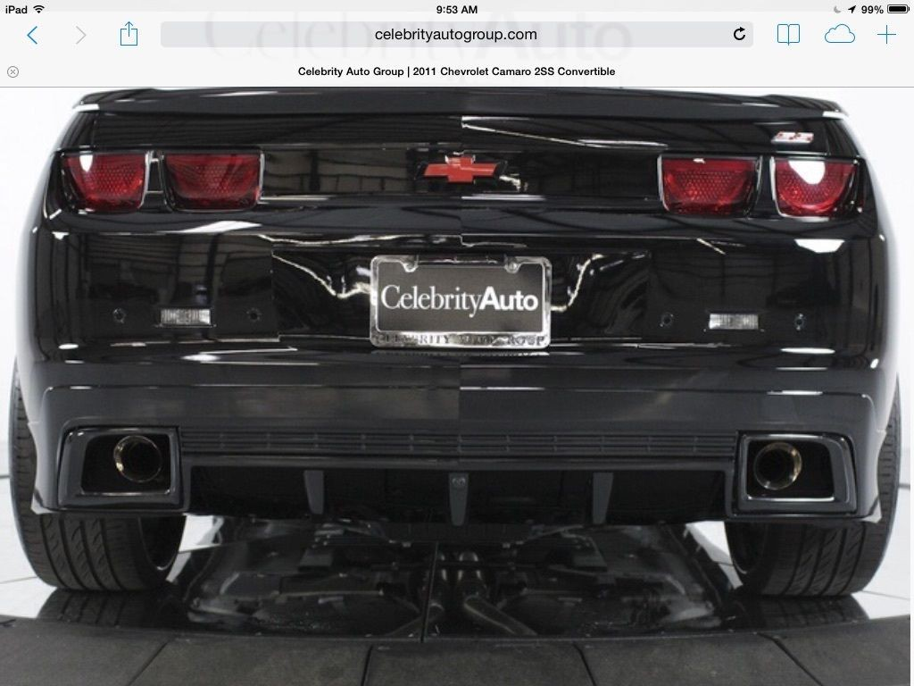 2011 Chevrolet Camaro Convertible 2SS Supercharged