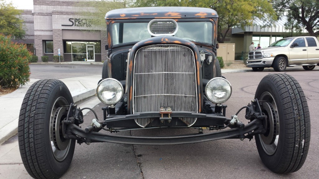 1936 International Truck Corvette Rear End