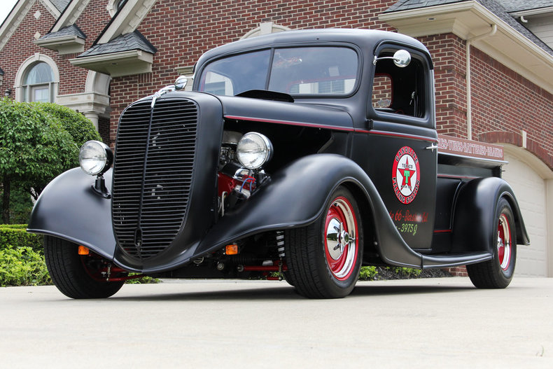 1937 Ford Pickups Street Rod
