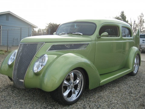 1937 Ford 2 DR Custom Slantback for sale
