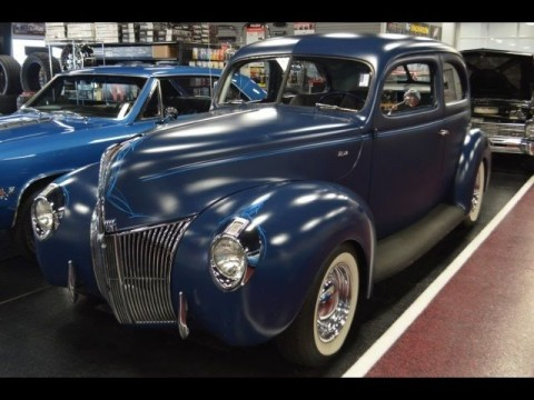 1940 Ford 2 door sedan flat head custom street rod for sale