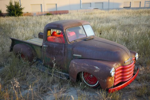 1947 Chevy 3100 Bagged Short bed for sale