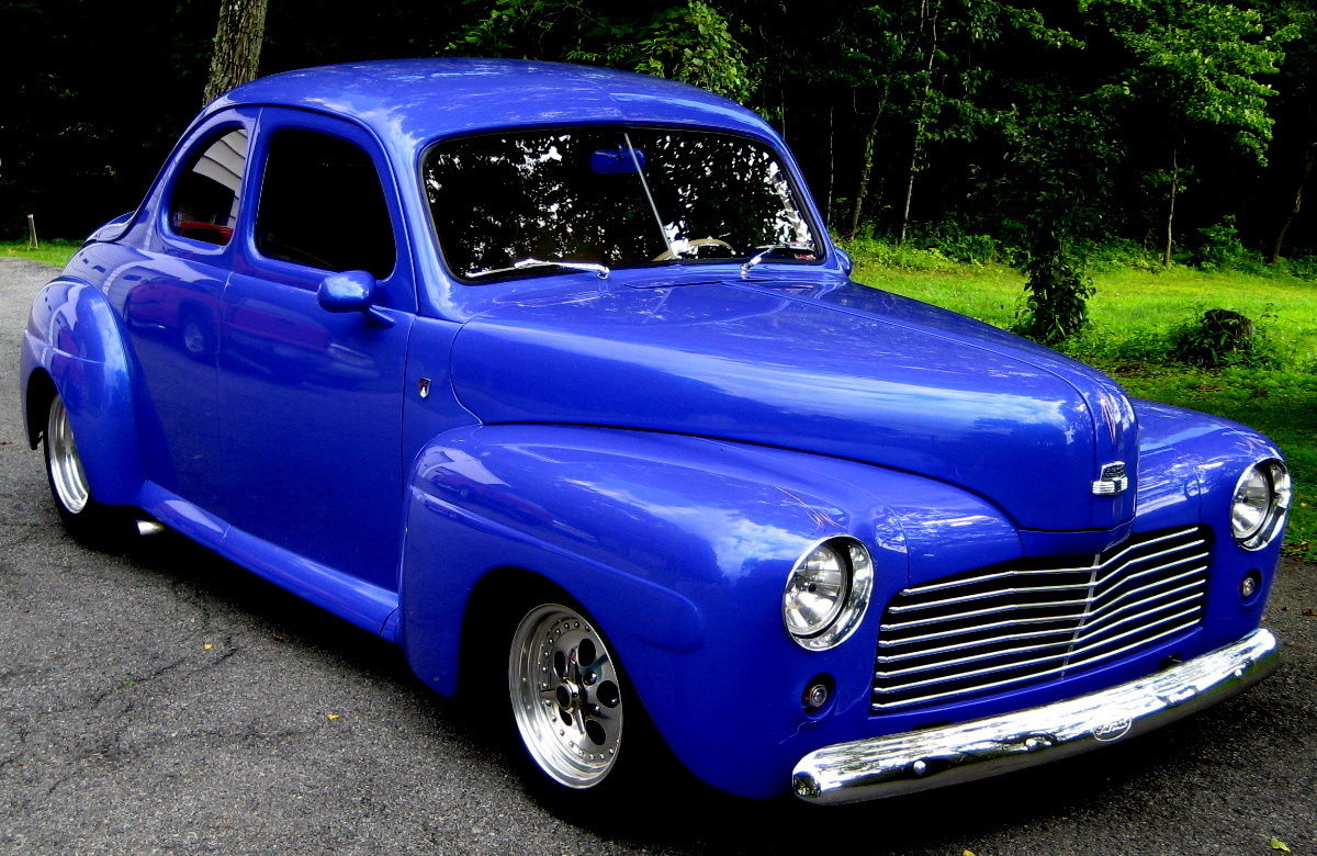 1947 Ford Coupe Custom All Steel Restomod for sale