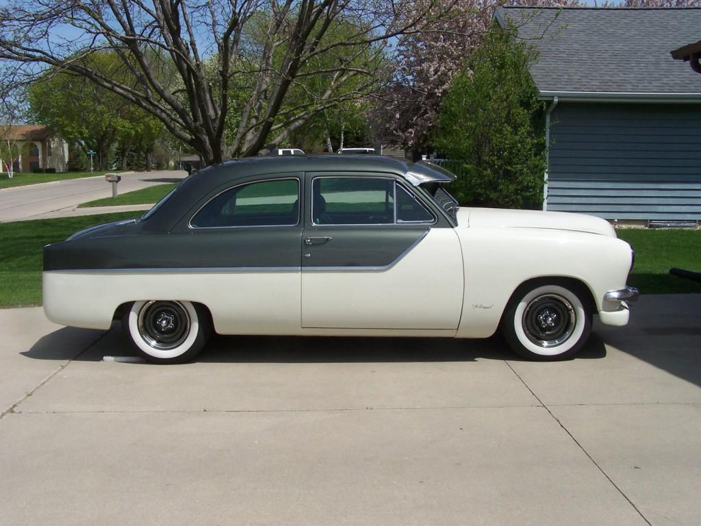 1950 Ford 50s custom hot rod