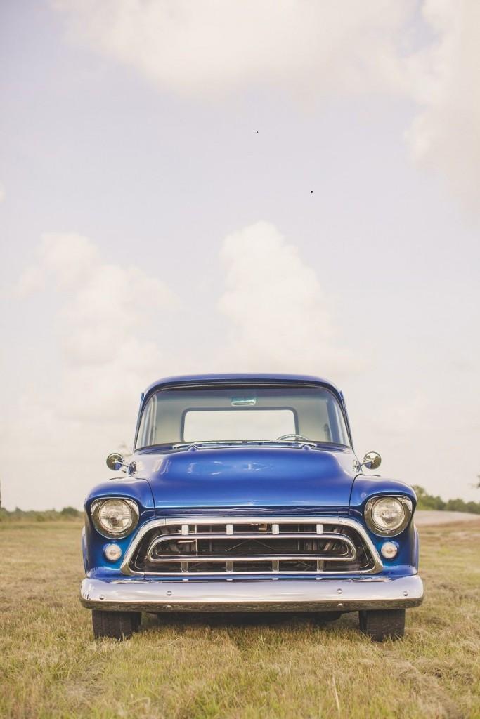1957 Chevrolet 3100 Custom Pickup Show Truck