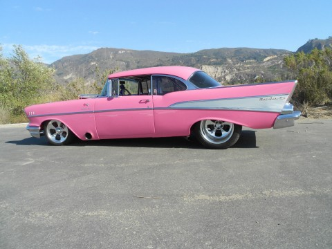 Stretched 1957 Chevy Bel Air for sale