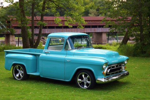 1957 Chevrolet Modernized Show Truck 3100 for sale