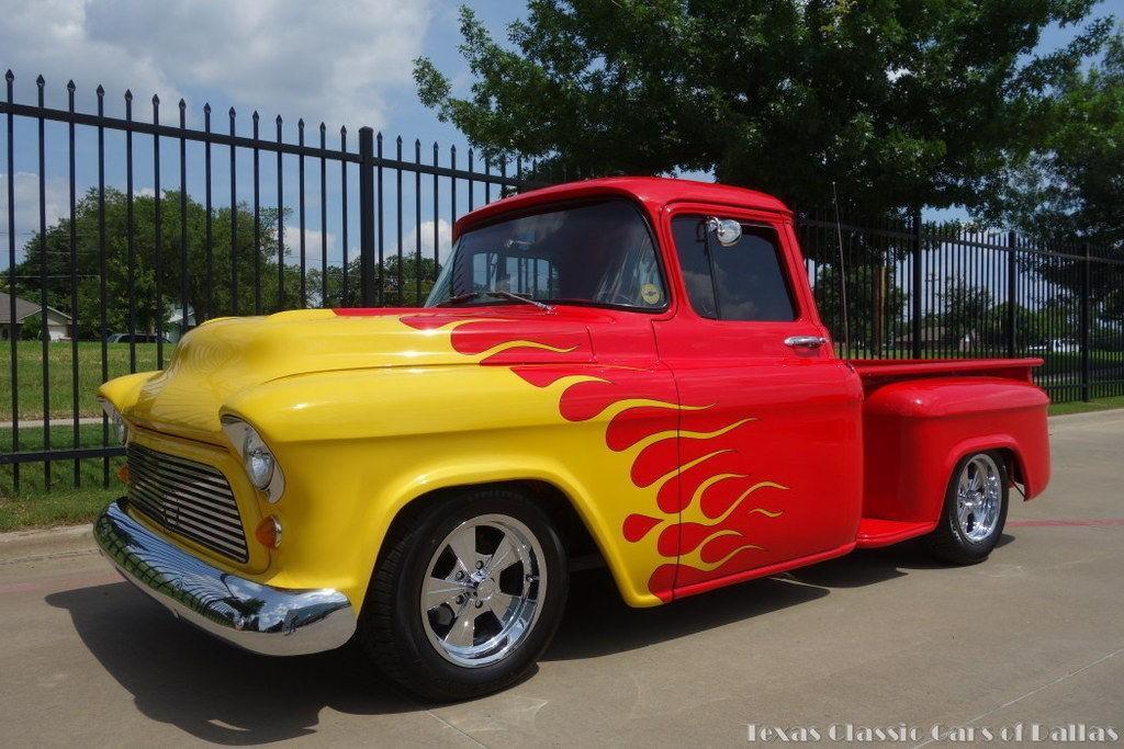 1957 Chevy Truck – Custom Big Block Show Winner