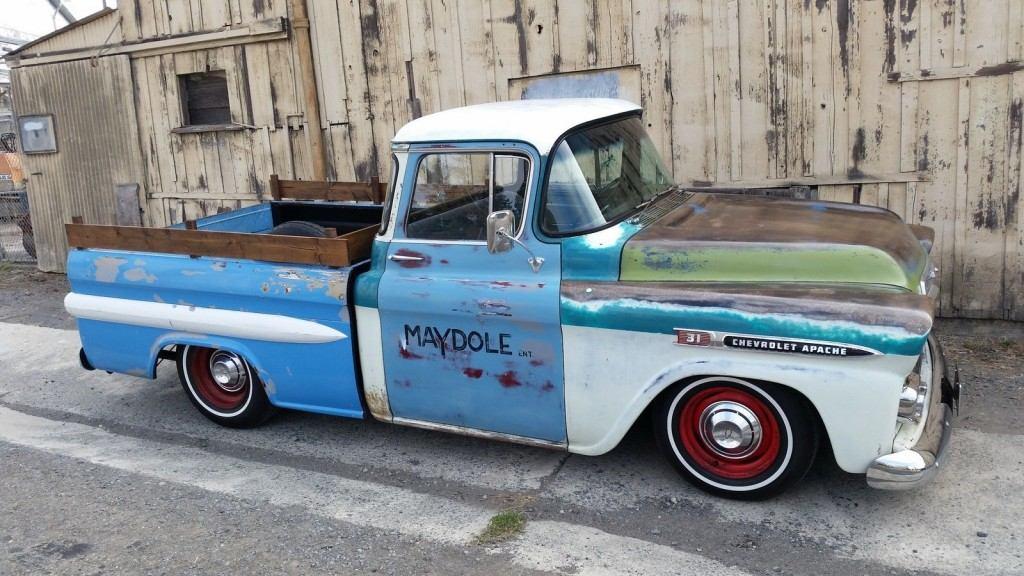 1959 Chevrolet Apache Fleetside Custom Cab