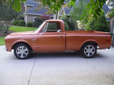 1968 Chevrolet C 10 Fleetside SWB Built 350 V8 for sale