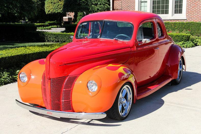 1940 Ford Street Rod Custom Coupe