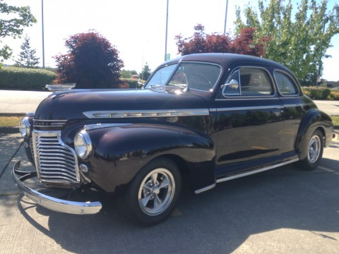 1941 Chevy Special Deluxe, Buisness Coupe, custom for sale