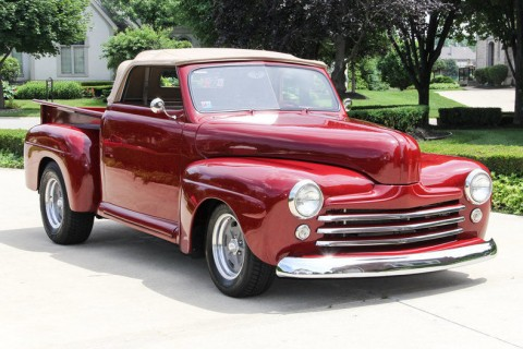1948 Ford Custom Convertible Pickup for sale