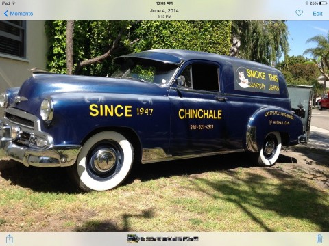 1951 Chevrolet Sedan Delivery Panel Truck for sale