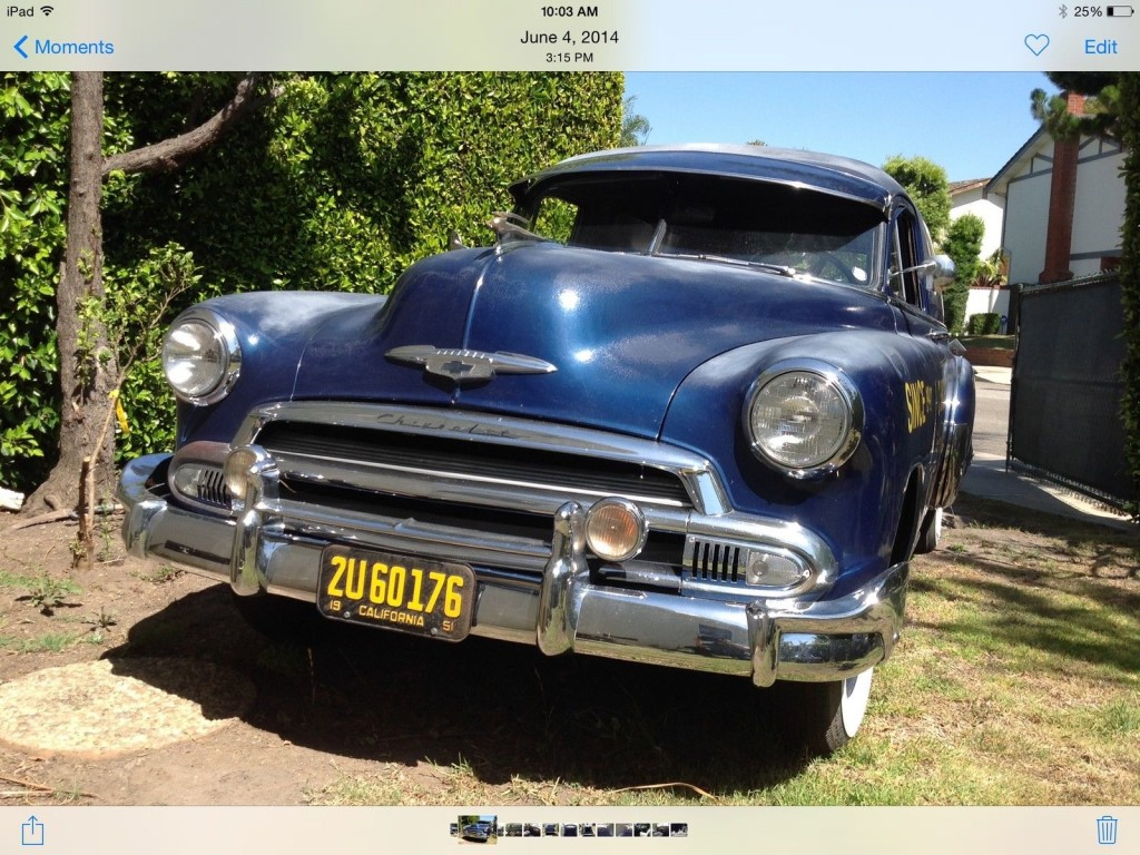 1951 Chevrolet pick up Truck 3100 Custom Cruiser
