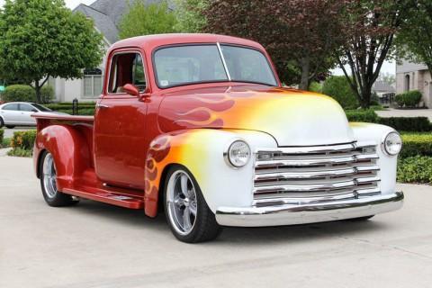 1953 Chevrolet Custom Built 5 Window Pickup for sale