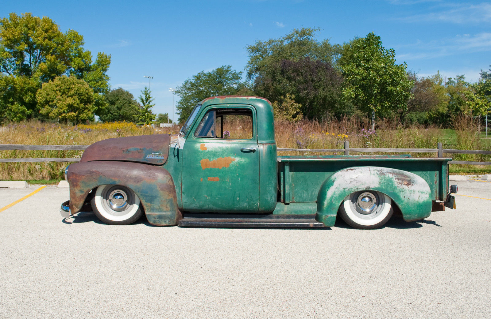 1953 Chevy Truck Rat Rod Hot Rod For Sale