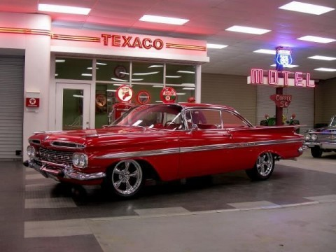 1959 Chevrolet Impala 2 Door Custom Street Rod for sale