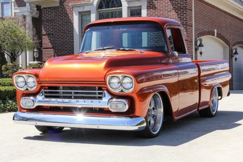 1959 Chevy Apache Custom Frame off Restored for sale