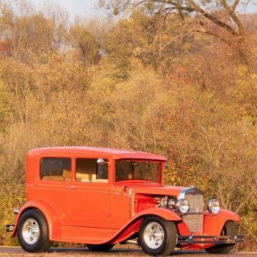 1931 Ford Model A 2 Door Sedan Full Custom Street Rod for sale