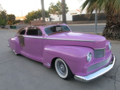 1946 Lincoln Zephyr Coupe V12 Custom Damaged for sale