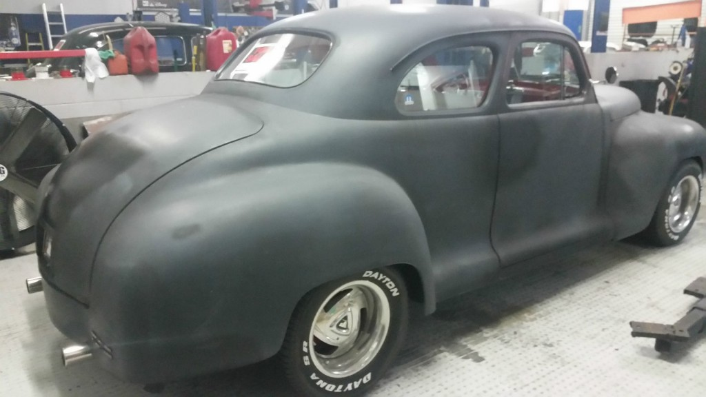 1948 Plymouth Special Deluxe Coupe Custom Hot Rod