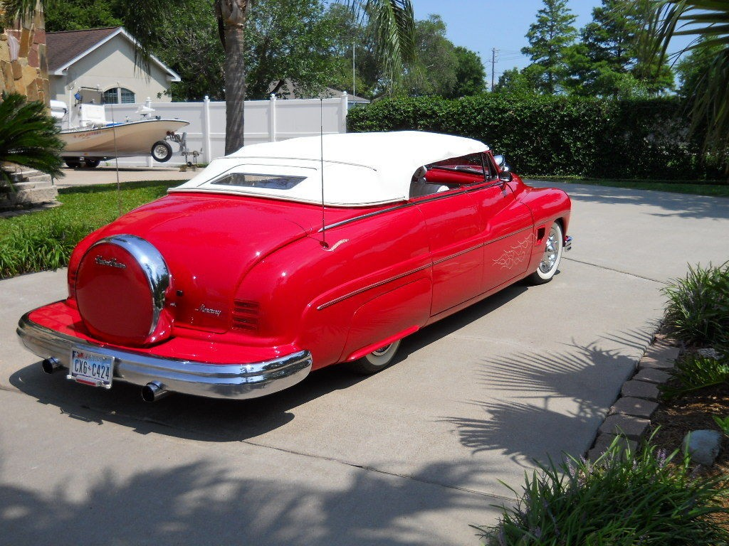 1950 mercury custom convertible 4 door for sale. Black Bedroom Furniture Sets. Home Design Ideas