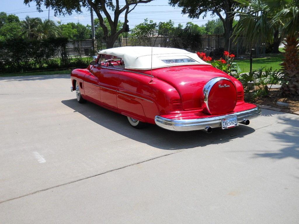 1950 Mercury Custom Convertible 4 door