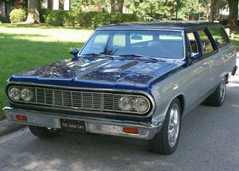 1964 Chevrolet Malibu Wagon Restomod for sale