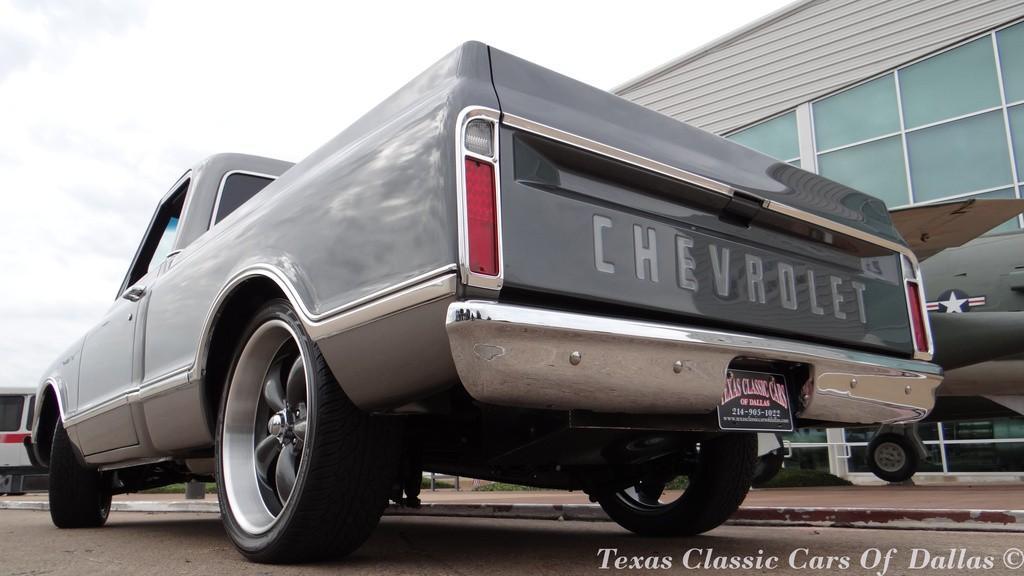 1967 Chevrolet C 10 Pickup Custom LS2 Silver Longbed