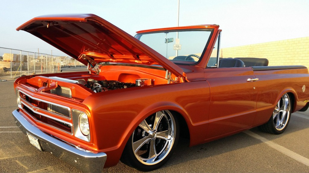 1970 Chevrolet C10 Blazer LSX  Dropmember C4 20's  ART