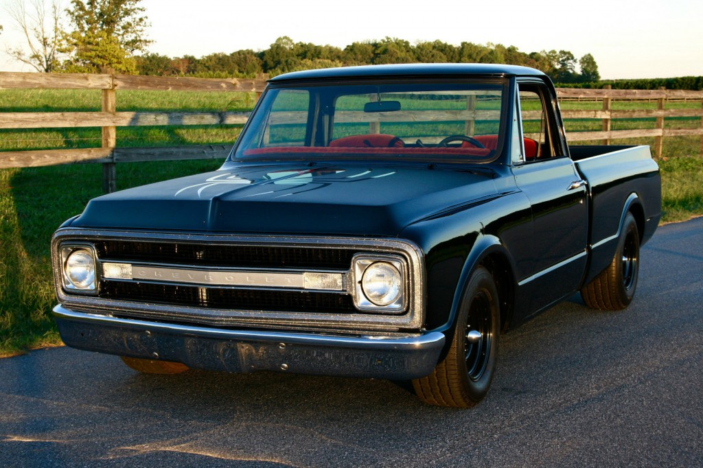 1970 Chevrolet C10 CST, Short Bed Fleet Side, Classic Truck