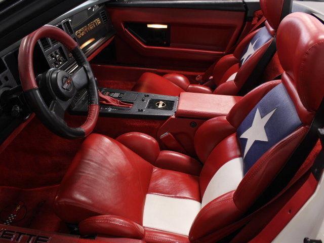 1989 Chevrolet Corvette Pace Car Inspired
