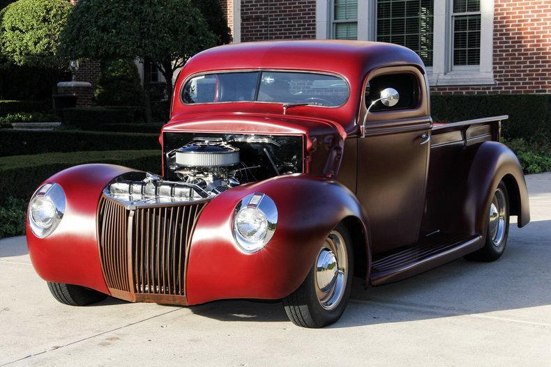 1940 ford pickup street rod for sale. Black Bedroom Furniture Sets. Home Design Ideas