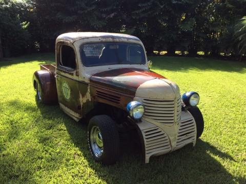 1947 Custom rat rod Dodge Pickup Looks Ratty Drives like a new one for sale