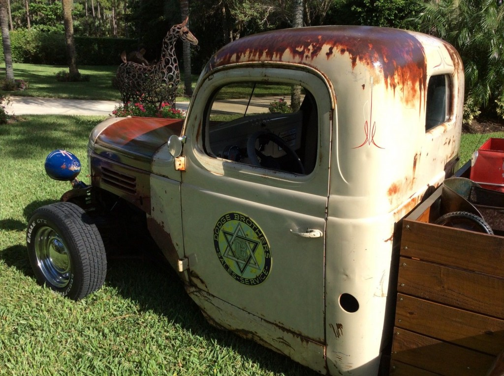 1947 Custom rat rod Dodge Pickup Looks Ratty Drives like a new one