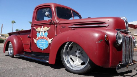 1947 ford jailbar 1/2 ton pickup hot rod for sale